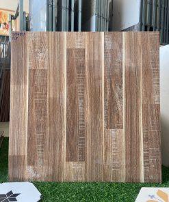 Gạch giả gỗ 60x60 bóng kiếng giá rẻ