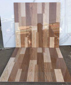 Gạch giả gỗ 60x60 lát nền siêu bóng giá rẻ
