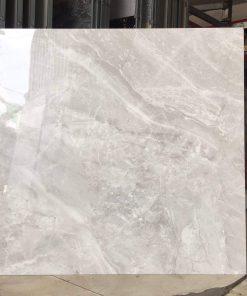 Gạch lát nền 60x60 bóng kiếng vân xám giá rẻ