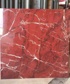 Gạch lát nền 60x60 đỏ vân trắng