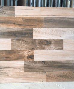 Gạch lát nền vân gỗ 60x60 bóng kiếng