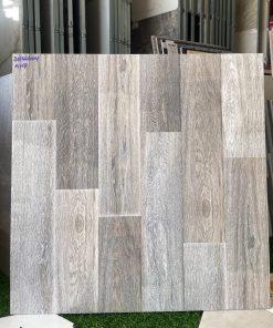 Gạch lót sàn 60x60 vân gỗ bóng kiếng