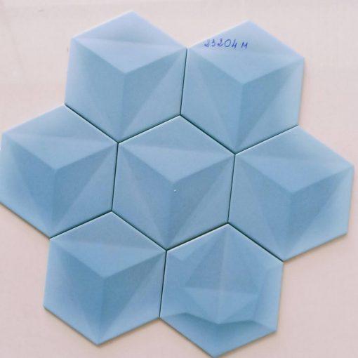 Gạch trang trí lục giác 3D nhập khẩu