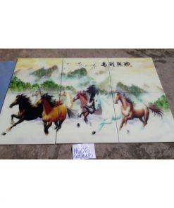 gạch tranh ngựa đẹp 120x180 giá rẻ