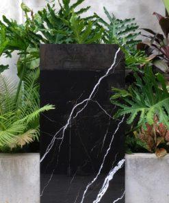 Gạch 60x120cm cao cấp giá rẻ mầu đen vân trắng